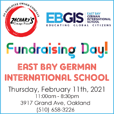 Dine-out Fundraising Day: Zachary's Chicago Pizza